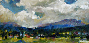 Landscape IV by Art-deWhill