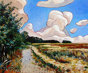 Farm Track by Art-deWhill