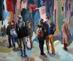 Urban People No. XII by Art-deWhill