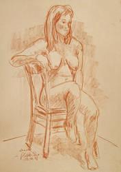 Nude Sketch by Art-deWhill