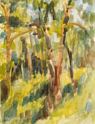 Trees and Green by Art-deWhill