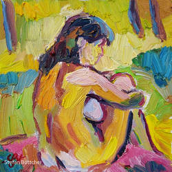 Expressive Nude by Art-deWhill