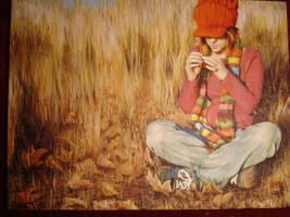 self portrait by lambykins2004