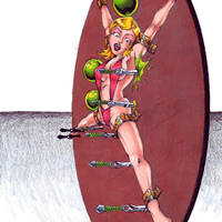 Target girl Ann by Jaz212