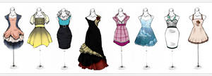 .More Dresses. by Lii-chan