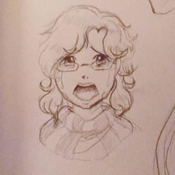 Baby Avsalom crying by Avathae-Mangaka