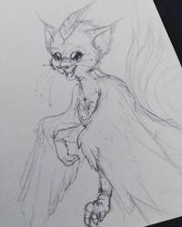 Little creature of spirit by Avathae-Mangaka