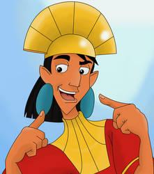 It is me, emperor Kuzco by Teejii