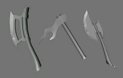 Axes for Ancient Beast by betasector