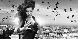 Heaven Over Paris by perebejnos