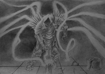 Tyrael - pencil draw by Solty88