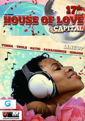 House Of Love Flyer by ShanNinjaG