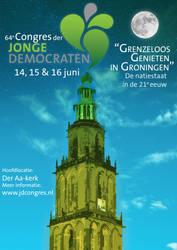 Poster for Jonge Democraten Congres by Daan1302