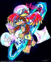 Banjo Kazooie Fanart by MissNeens