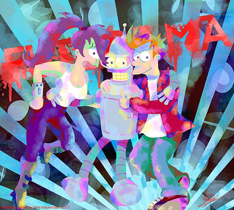 Futurama: BFF! By MissNeens On DeviantArt