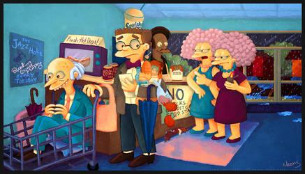 Kwik-E-Mart by MissNeens