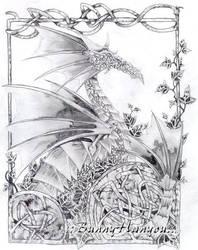 Dragon by BunnyHanyou