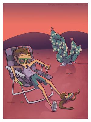 Desert Boy by CrispyLettuce
