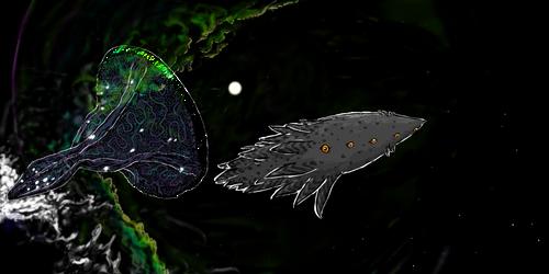 Tunie and Terra by Nighzmarquls