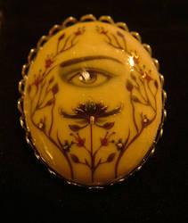 Lovers Eye Brooch by lindseycarr