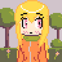 Pixel Art - Beginning of Autumn by Tukari-G3