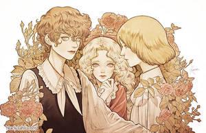 The Poe Family by BlackDahlia0111