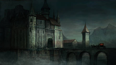 Castle by Vitaj