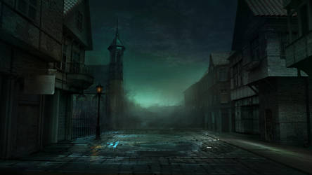 Alley by Vitaj