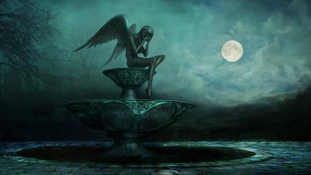 Fountain by Vitaj