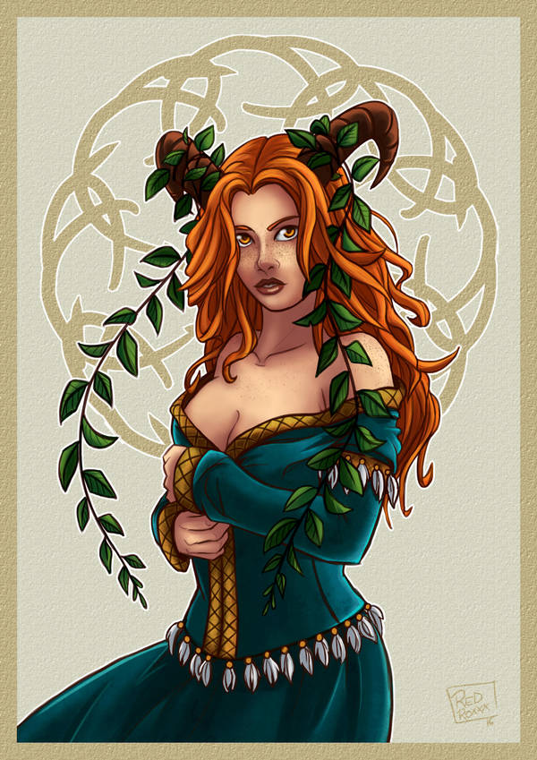 Celtic Faun by Red-Zephyr