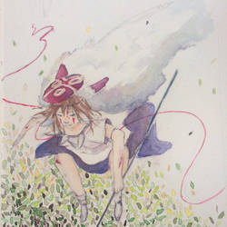 Princess Mononoke by ashoriii