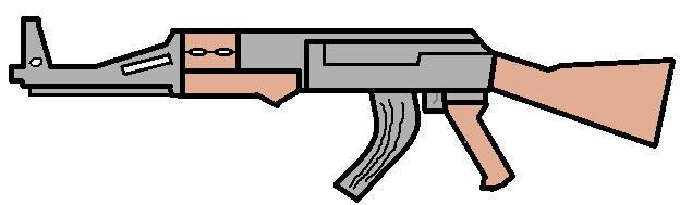 Ak-47 Semi-Automatic by Badwolf66