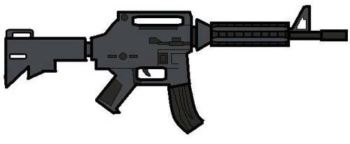 M4 carbine by Badwolf66