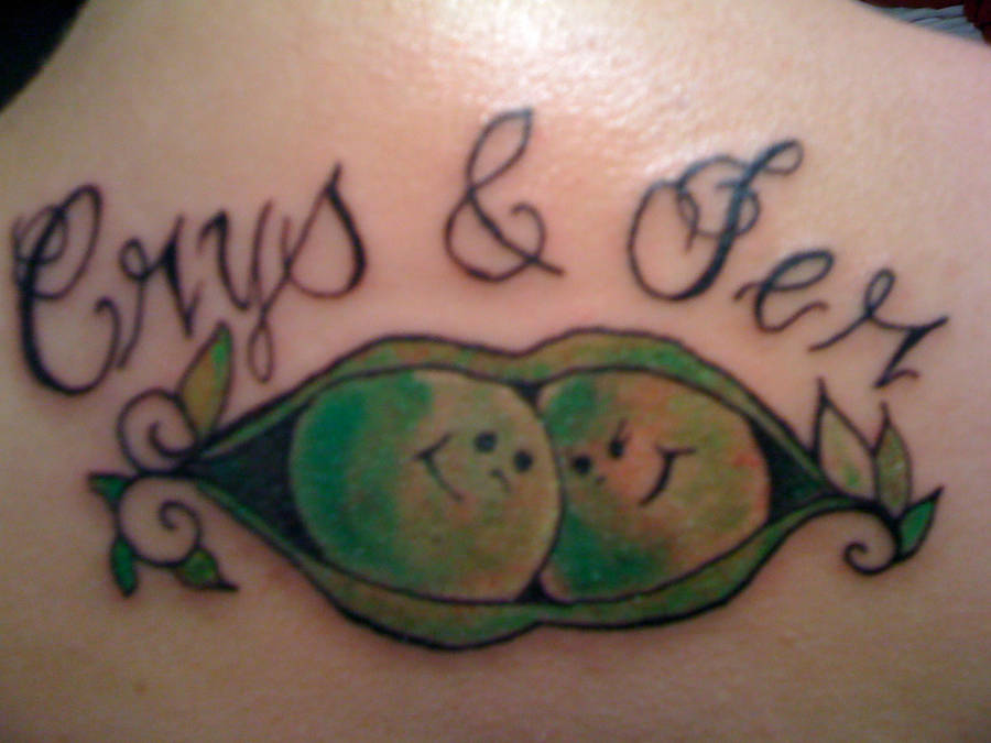 Two Peas In A Pod By Crystalblis On Deviantart