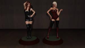 College Mannequin:  Figurine Finale by CaptianHarlock