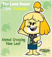 'THE LOUD HOUSE' Style: Isabelle by BRSstarJV
