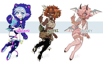 DAINTY CUSTOMS- FB batch 2 by Pajuxi-Adopts