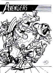 the avengers by david1983pentakill