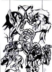 pin up the avengers 1988 by david1983pentakill by david1983pentakill