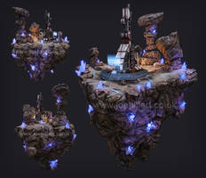 Eden Star: Matter Extractor Diorama by mistermojo28