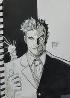 Day #53 Two face heads or tails? by TomatoStyles