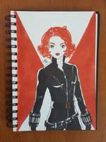 Day 108 Black Widow by TomatoStyles