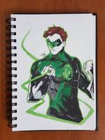 Day 122 Green Lantern by TomatoStyles