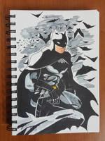 Day 130 Batman by TomatoStyles