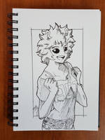 Day 195 Mina Ashido by TomatoStyles