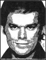 Dexter Morgan - ink by breadzilla