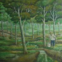 Pemandangan Pohon Karet by yons26