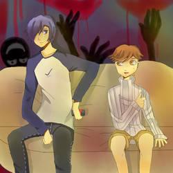 Persona 3 by aya-chanart