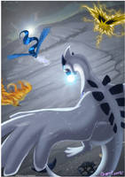 Lugia - Towards and against by Grypwolf