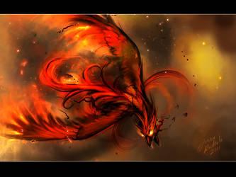 Burning Blood by Grypwolf